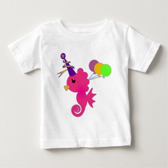 Cute and Fun Seahorse Baby T-Shirt