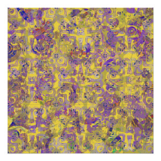 Unique abstract paintings posters zazzle for Cute abstract art