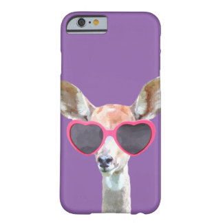 Cute and funny antelope woodland animal barely there iPhone 6 case