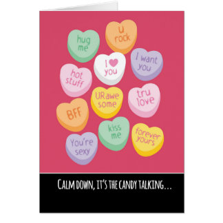 Cute And Funny Candy Hearts Valentineu0026#39;s ...