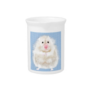 Cute and funny hamster drink pitcher