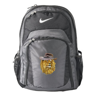 Cute and Funny Lion Backpack