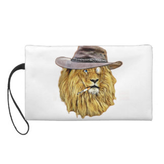 Cute and Funny Lion Wristlet Purse