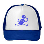 Cute and funny marathon mesh hats