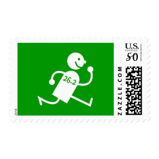 Cute and funny marathon postage