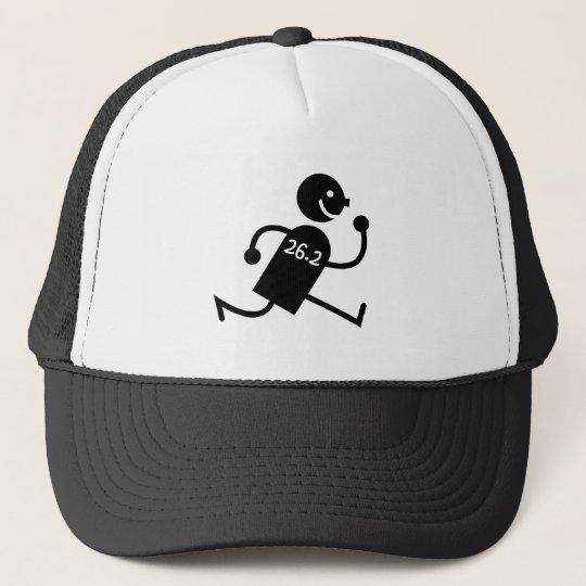 Cute and funny marathon trucker hat