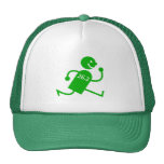 Cute and funny marathon trucker hat