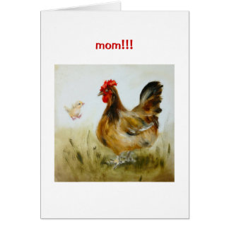 Cute and Funny Mother's Day Card
