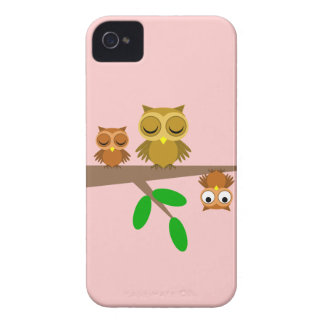 cute and funny owls Case-Mate iPhone 4 case