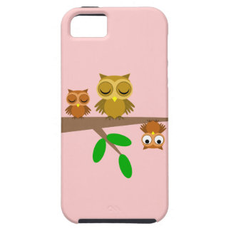 cute and funny owls iPhone SE/5/5s case