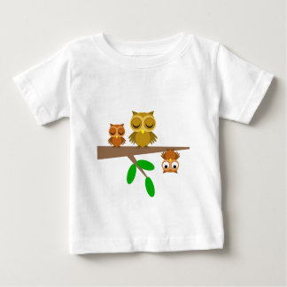 cute and funny owls tee shirt