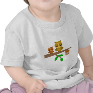 cute and funny owls t shirts