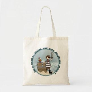 Cute and funny Pirate design Tote Bag