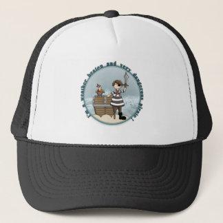 Cute and funny Pirate design Trucker Hat