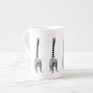 Cute and Funny Ring-tailed Lemurs Bone China Mugs