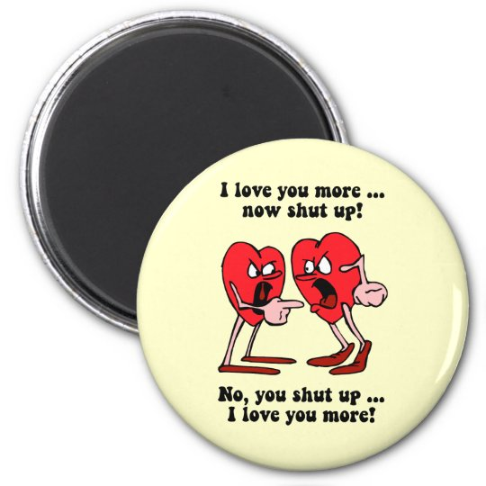 Cute and funny Valentine's Day Magnet