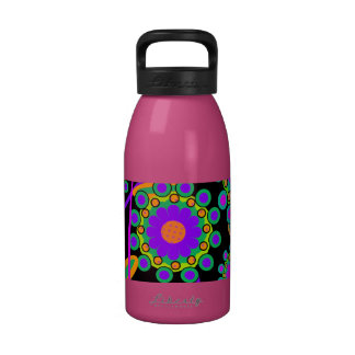 Cute and Girly Floral Pattern Reusable Water Bottle