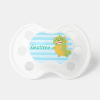 Cute and Happy Dino for newborn Baby Boy Baby Pacifier