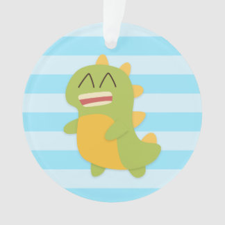 Cute and happy Dinosaur for Kids Ornament