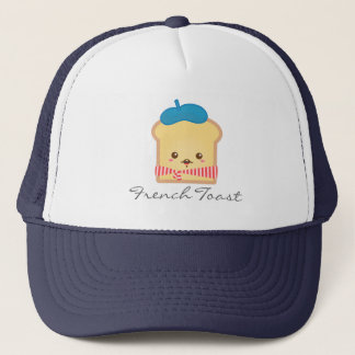 Cute and Happy French toast Trucker Hat