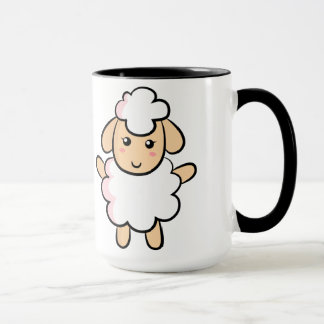 Cute and Happy Sheep Mug