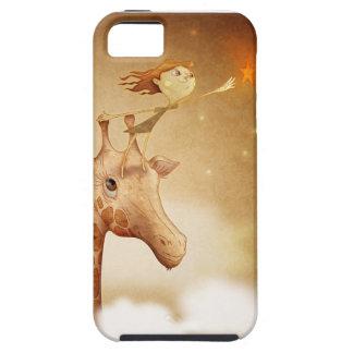 Cute and imaginative illustration iPhone 5 carcasa