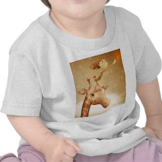 Cute and imaginative illustration t-shirts