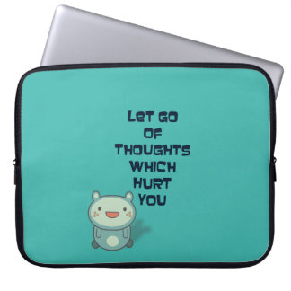 Cute and Inspirational Encouraging Quote Computer Sleeve