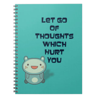 Cute and Inspirational Encouraging Quote Notebook