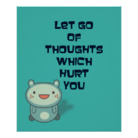Cute and Inspirational Encouraging   Quote Poster