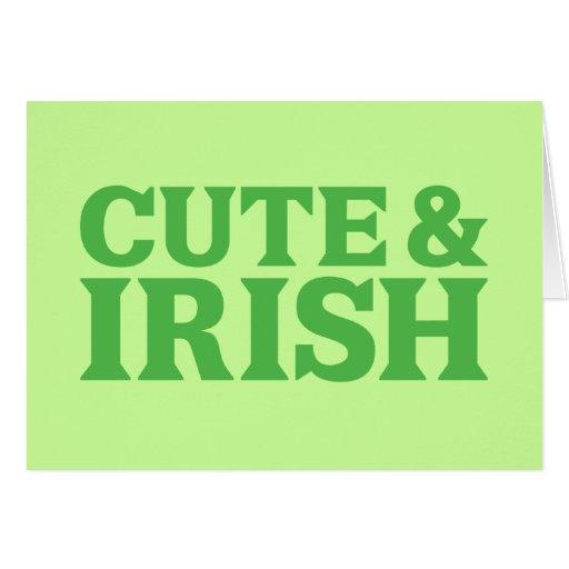 Cute and Irish Cards