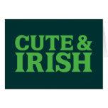 Cute and Irish Greeting Card