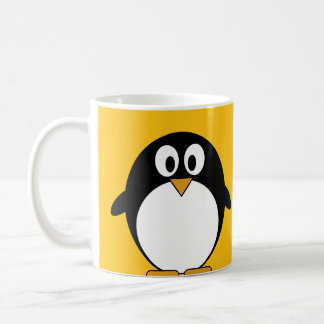 Cute and Modern Cartoon Penguin Classic White Coffee Mug