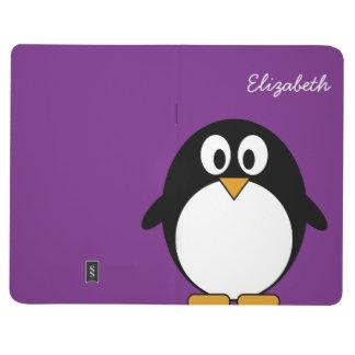 Cute and Modern Cartoon Penguin Journal