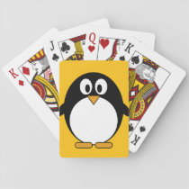 Cute and Modern Cartoon Penguin Playing Cards
