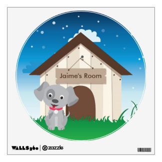 Cute and Playful Puppy or Dog Wall Decal