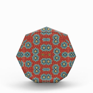 Cute and Quaint Floral - Red and Blue Award