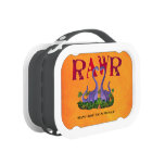 Cute and Romantic Dinos - Rawr Lunch Box