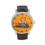 Cute and Romantic Dinosaurs Wristwatches