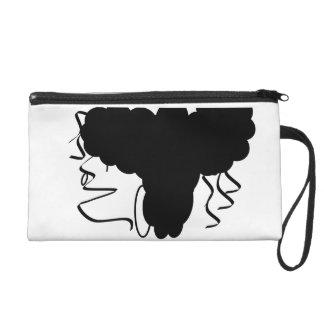 Cute and sassy wristlet