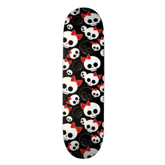Cute and Scary Skulls Skate Decks