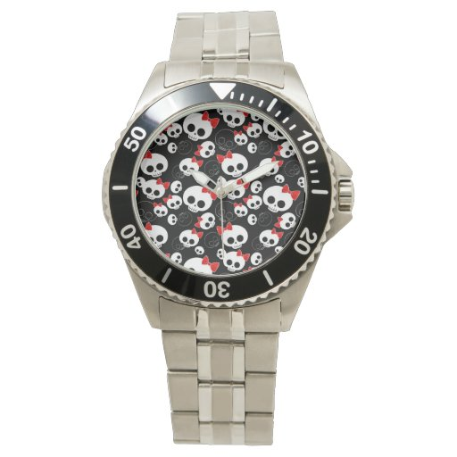 Cute and Scary Skulls Watch