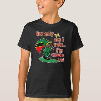 Cute and St Kittian design T-Shirt