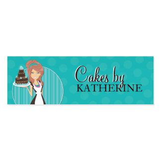 Cute and Sweet Bakery Packaging Labels Business Card Template
