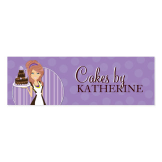 Cute and Sweet Bakery Packaging Tags Business Cards