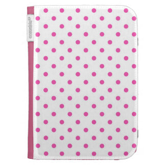 Cute and sweet pink polka dots cases for kindle