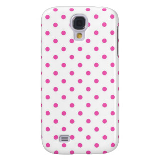 Cute and sweet pink polka dots galaxy s4 case
