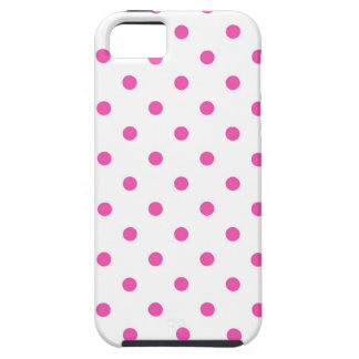 Cute and sweet pink polka dots iPhone 5 case