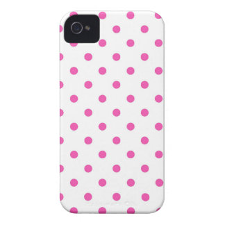 Cute and sweet pink polka dots iPhone 4 covers