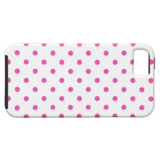 Cute and sweet pink polka dots iPhone 5 covers